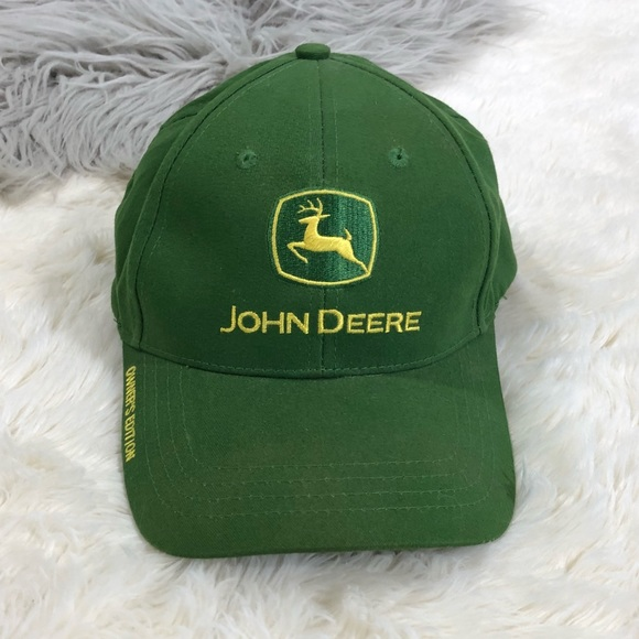 9ea74eb3e2a90 John Deere Green Hat Owners Edition Sliding Buckle